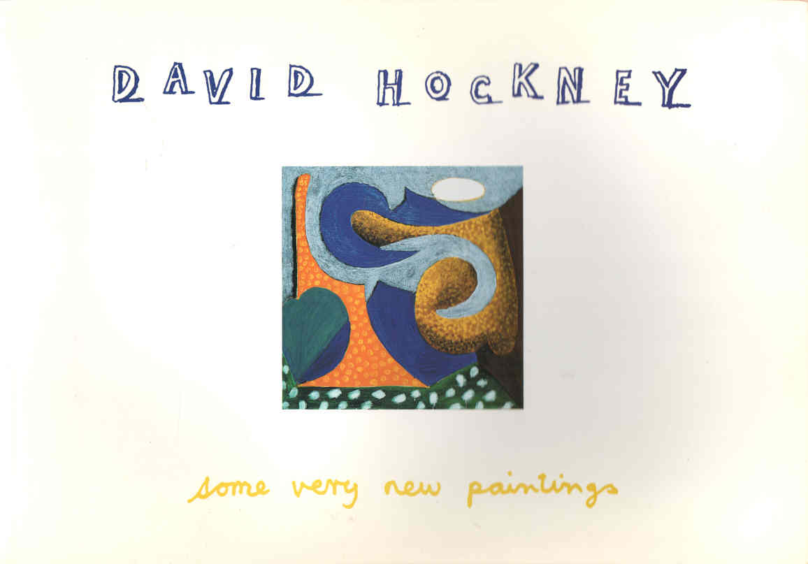 HOCKNEY, DAVID - Some Very New Paintings
