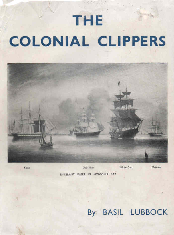 LUBBOCK, BASIL - The Colonial Clippers