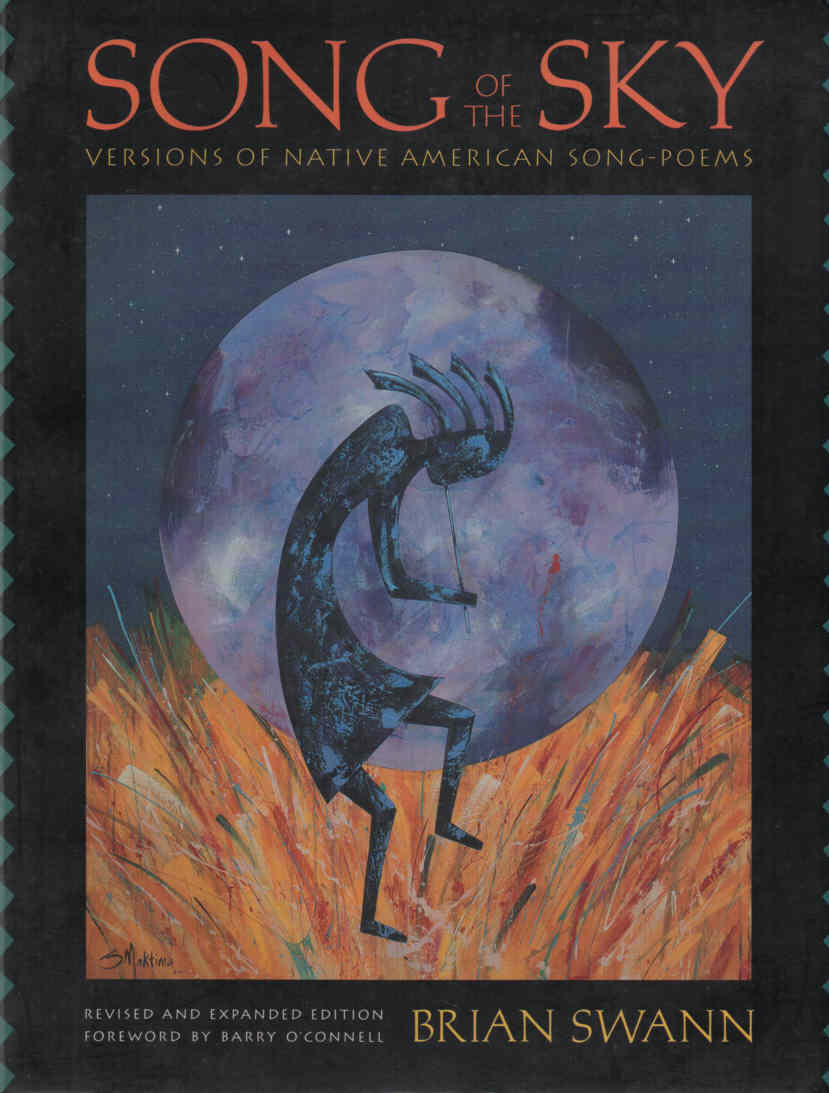 SWANN, BRIAN - Song of the Sky  Versions of Native American Song-Poems