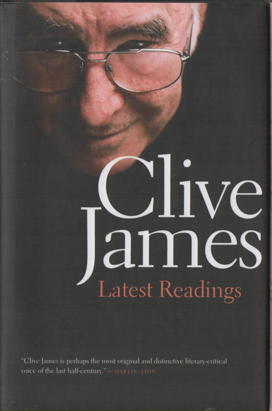 JAMES, CLIVE - Latest Readings