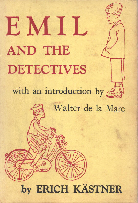KASTNER, ERICH (EILEEN HALL, TRANS.; WALTER TRIER, ILLUS.; INTRODUCTION BY WALTER DE LA MARE) - Emil and the Detectives